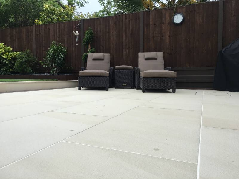 porcelain patio