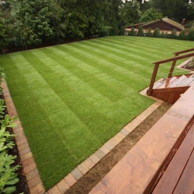 Decking Areas Artificial Grass Lawns And Turf By Carrick