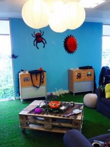 OAP Area - Swing Chair - MTG Office MakeoverOAP Area - Swing Chair - MTG Office Makeover